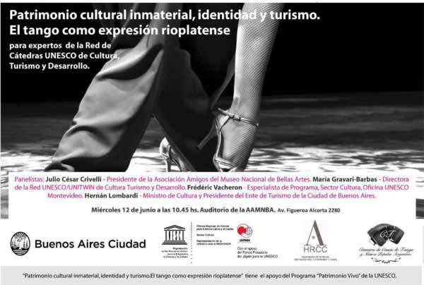 Organizado Cátedra UNESCO de Turismo Cultural Untref-Aamnba
